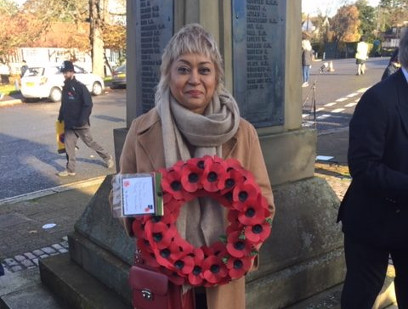 PMCPA at the Remembrance Service in Pinner